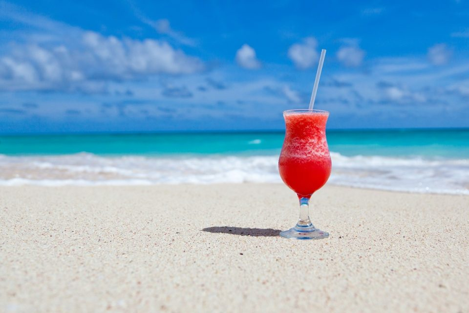 Emotional Eating Watermelon Smoothie Beach Paradise Healthy Living